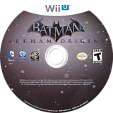 Batman: Arkham Origins WiiU disc (AZEEWR)