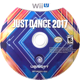 Just Dance 2017 WiiU disc (BJ7E41)
