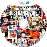 Just Dance 2015 WiiU disc (BJDE41)