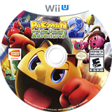 Pac-Man and the Ghostly Adventures 2 WiiU disc (BPMEAF)