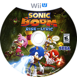 Sonic Boom: Rise of Lyric WiiU disc (BSSE8P)