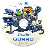 Star Fox Guard WiiU disc (BWFE01)