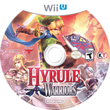 Hyrule Warriors WiiU disc (BWPE01)