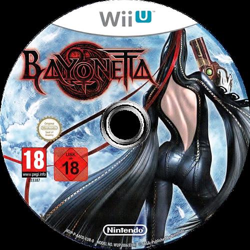 Bayonetta WiiU discM (AAFD01)