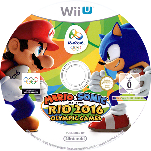 Mario & Sonic at the Rio 2016 Olympic Games WiiU discM (ABJP01)