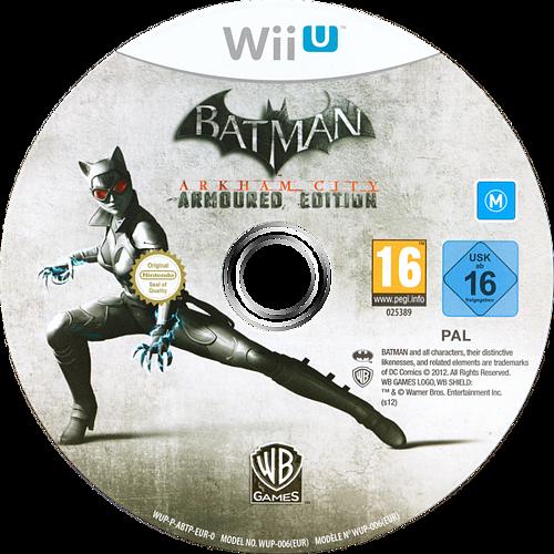 Batman Arkham City: Armoured Edition WiiU discM (ABTPWR)