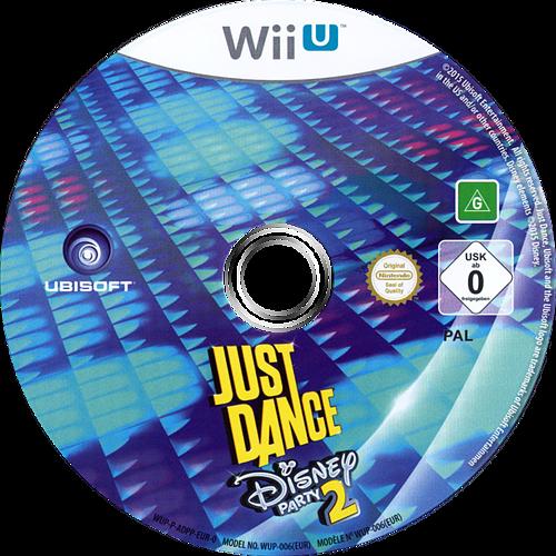 Just Dance Disney Party 2 WiiU discM (ADPP41)