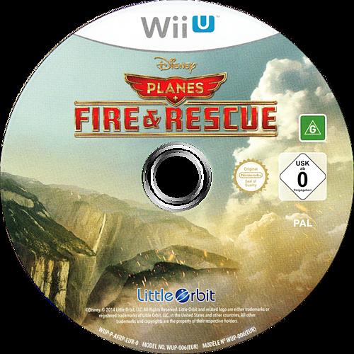 Disney Planes: Fire & Rescue WiiU discM (AFRPVZ)
