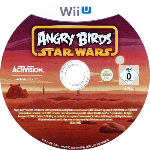 Angry Birds Star Wars Array discM (AGRP52)
