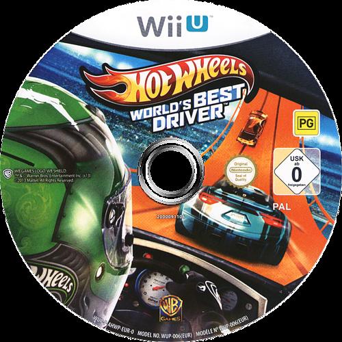Hot Wheels: World's Best Driver WiiU discM (AHWPWR)