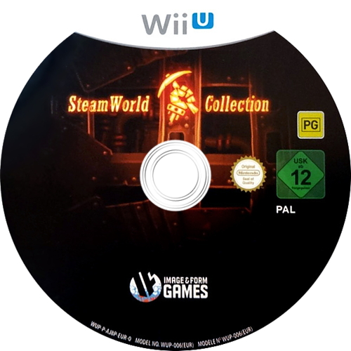 SteamWorld Collection WiiU discM (AJ8PVW)