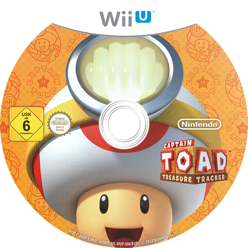 Captain Toad: Treasure Tracker WiiU discM (AKBP01)