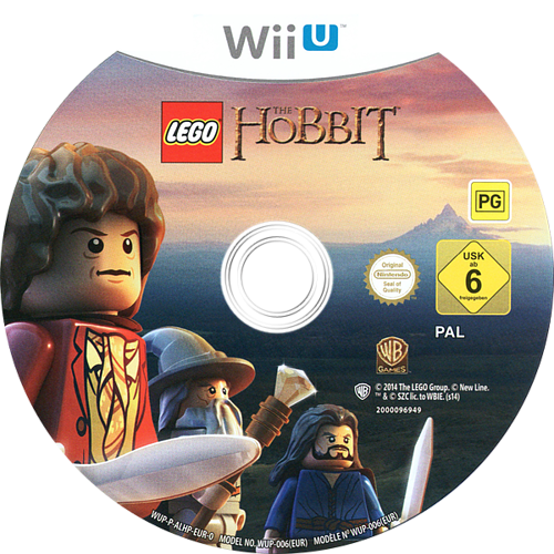 LEGO The Hobbit WiiU discM (ALHPWR)