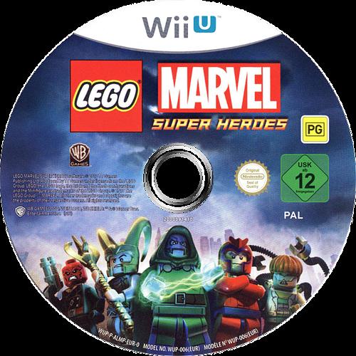 LEGO Marvel Super Heroes WiiU discM (ALMPWR)
