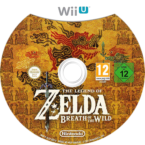 The Legend of Zelda: Breath of the Wild WiiU discM (ALZP01)