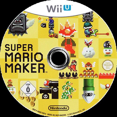 Super Mario Maker WiiU discM (AMAP01)