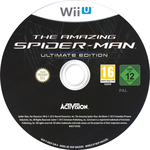 The Amazing Spider-Man Ultimate Edition WiiU discM (AMZP52)