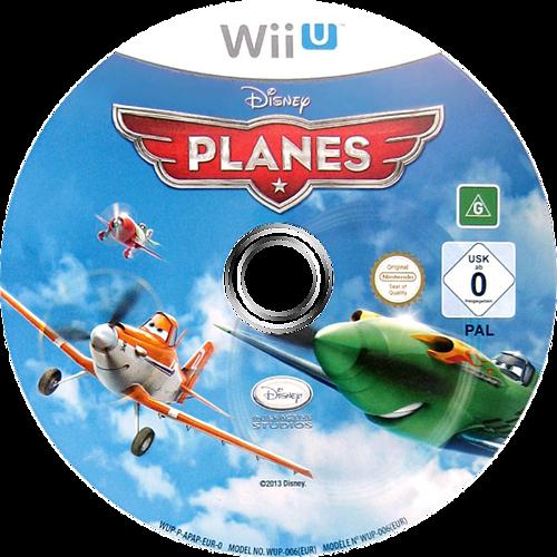 Disney Planes WiiU discM (APAP4Q)