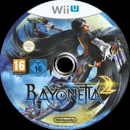 Bayonetta 2 WiiU discM (AQUP01)