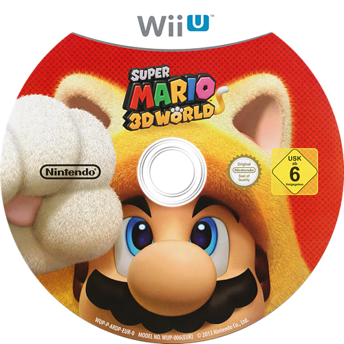 Super Mario 3D World WiiU discM (ARDP01)
