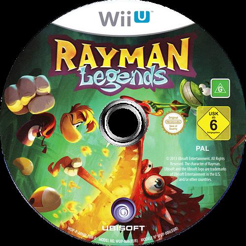 Rayman Legends WiiU discM (ARMP41)