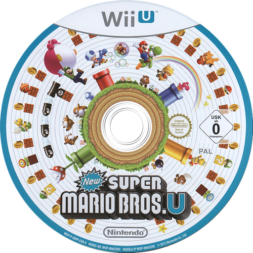 New Super Mario Bros. U WiiU discM (ARPP01)