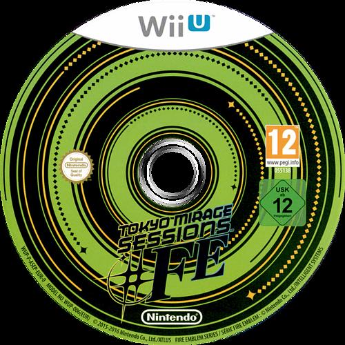 Tokyo Mirage Sessions #FE WiiU discM (ASEP01)