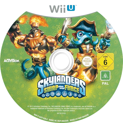 Skylanders: Swap Force WiiU discM (ASFP52)
