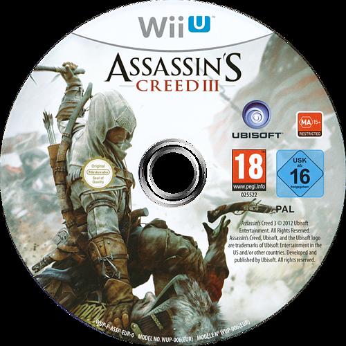 Assassin's Creed III WiiU discM (ASSP41)
