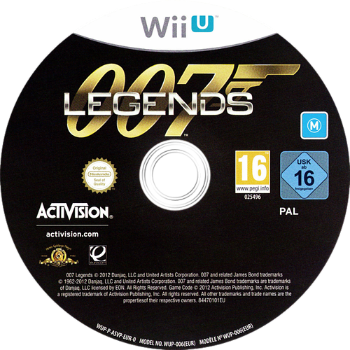 007 Legends WiiU discM (ASVP52)