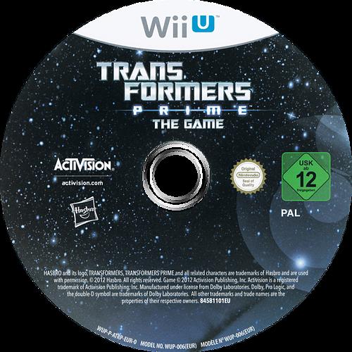 Transformers Prime: The Game WiiU discM (ATRP52)
