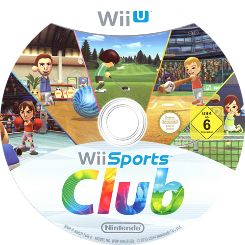 Wii Sports Club WiiU discM (AWSP01)
