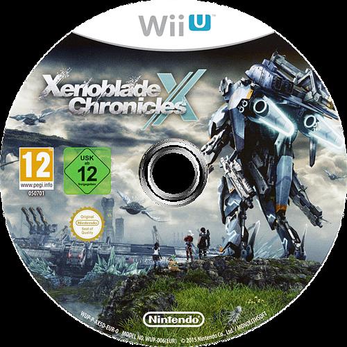 Xenoblade Chronicles X WiiU discM (AX5D01)