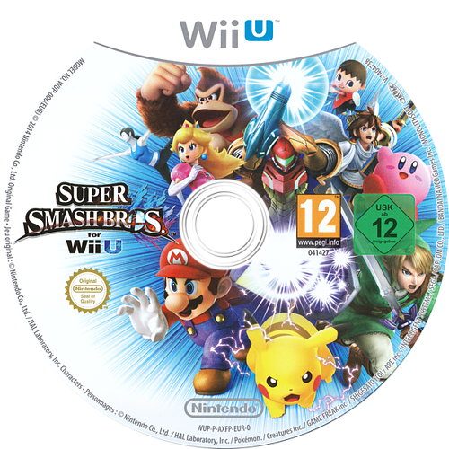 Super Smash Bros. for Wii U Array discM (AXFP01)