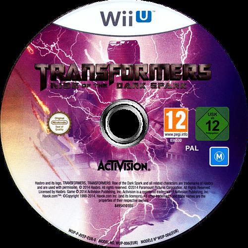 Transformers: The Dark Spark WiiU discM (AYEP52)