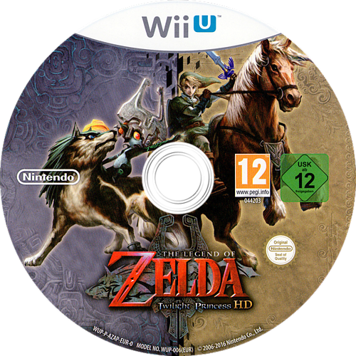 The Legend of Zelda: Twilight Princess HD WiiU discM (AZAP01)