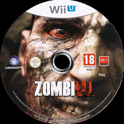 ZombiU WiiU discM (AZUP41)