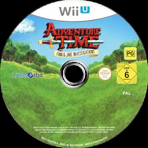Adventure Time: Finn & Jake Investigations WiiU discM (BFNPVZ)
