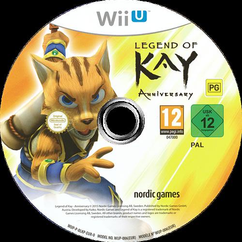 Legend of Kay Anniversary WiiU discM (BLKP6V)