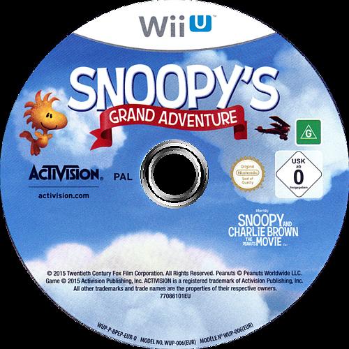 The Peanuts Movie: Snoopy's Grand Adventure Array discM (BPEP52)