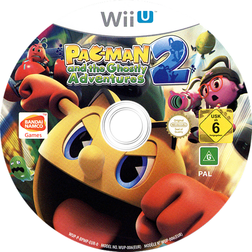 Pac-Man and the Ghostly Adventures 2 WiiU discM (BPMPAF)