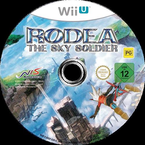Rodea the Sky Soldier WiiU discM (BRDPNS)