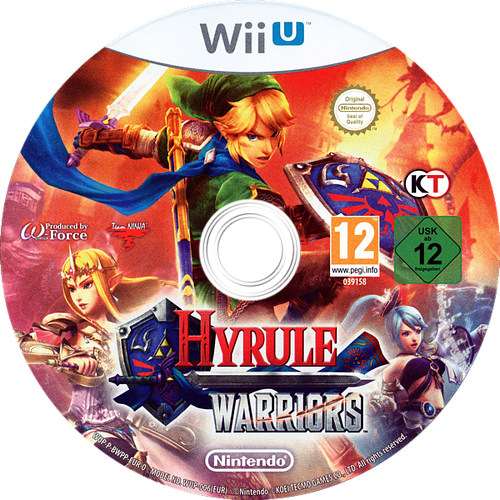 Hyrule Warriors WiiU discM (BWPP01)