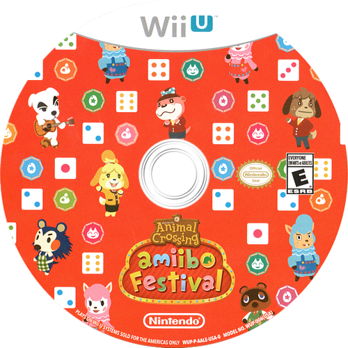 Animal Crossing: amiibo Festival WiiU discM (AALE01)