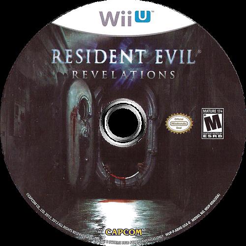 Resident Evil: Revelations WiiU discM (ABHE08)