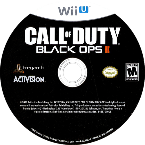 Call of Duty: Black Ops II WiiU discM (AECE52)