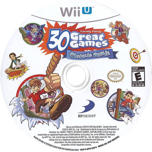 Family Party: 30 Great Games Obstacle Arcade WiiU discM (AFPEG9)