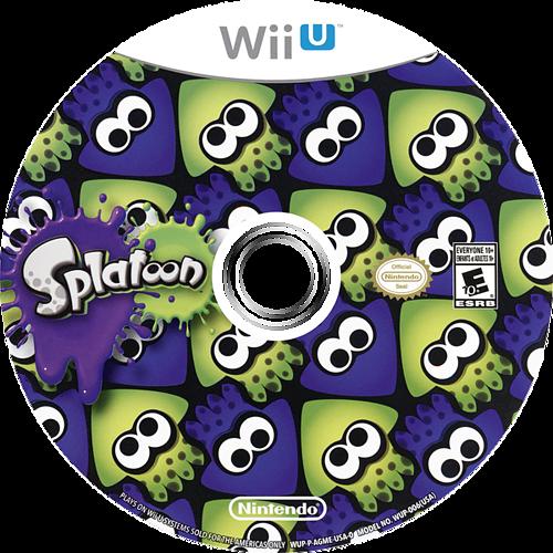 Splatoon WiiU discM (AGME01)