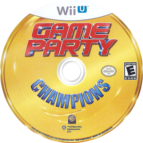 Game Party Champions WiiU discM (AGPEWR)