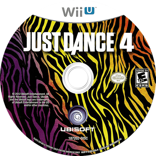 Just Dance 4 WiiU discM (AJDE41)